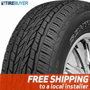 1 New 255 55r20 Continental Crosscontact Lx20 Tire 107 H
