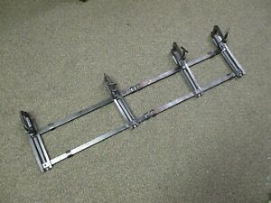 Vintage Model A T Running Board Adjustable Luggage Rack Ford Chevrolet Chrys