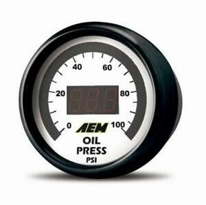 Aem 30 4401 Digital Oil Fuel Pressure Gauge 0 100 Psi