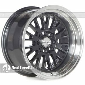 Circuit Cp28 15x8 4 100 4 114 3 0 Gun Metal Wheels Fits Acura Integra Stance
