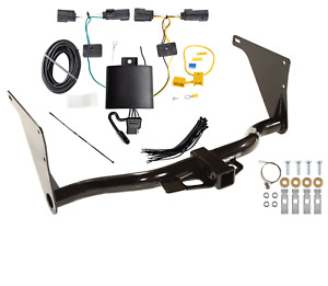 Trailer Tow Hitch For 2019 Ford Escape All Styles W Wiring Harness Kit