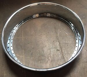28 X 3 Outer Chrome Reverse Replacement Part Fits Asanti Hre Gfg Etc 50 Hole