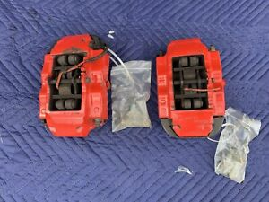 2004 2010 Porsche Cayenne Rear Set Brembo Brake Calipers