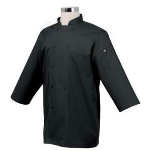 Chef Works 3 4 Sleeve Chef Coat Jacket All Sizes Colors