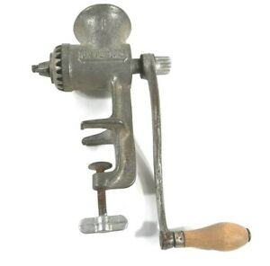Vintage Universal 1 Meat Grinder Attach Tabletop Countertop Made In Usa