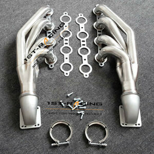 Ls1 Ls6 Lsx Gm V8 Turbo Exhaust Header Manifold 2pcs Elbows T3 T4 To V Band 3 0