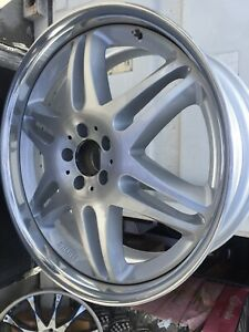Brabus Mono Vl 3pc 21 X 9 Et57 5 112 Silver Edition One Pc Only Good Conditions