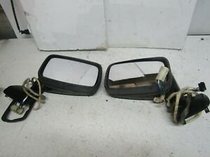 87 Porsche 944 924s Mirrors Right Left Complete Set