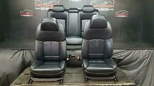 2011 Bmw 750 Li Front Rear Seats Power W Comfort Seat Heated Leather Black