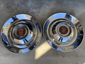 41 50 Buick Sombrero 15 Hub Caps Wheel Covers Read Description