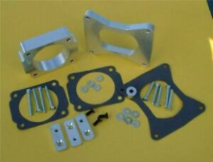 1996 2004 4 6l Ford Mustang Gt Stock Throttle Body Spacer And 1 2 Intake Spacer