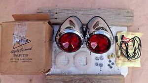 Nos 1961 Dodge Upper Tail Light Package Original Mopar Accessory Pair