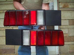 1979 1983 Ford Mustang Fox Body Stop Tail Lights Pair