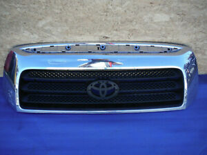 10 11 12 13 2010 2011 2012 Toyota Tundra Front Bumper Grill Grille Chrome Oem