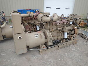 Cummins 440fd 135 Kw Generator Super Low Hrs 855 Diesel 3ph 480 Genset