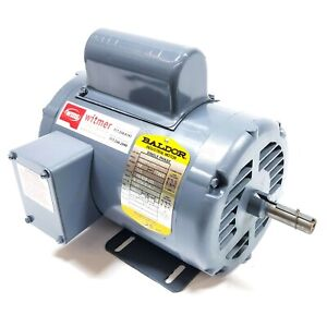 Baldor L1305 Electric Motor 1 2hp 1140rpm Odp 56 115 208 230v 1 phase 60hz