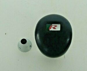 2004 2007 Jaguar Xjr Automatic Gear Shift Knob Black Leather 03 08 S type R Oem
