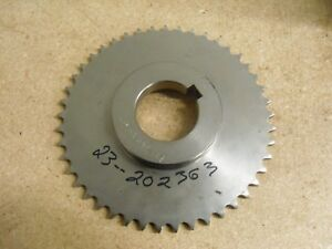 Roller Chain Sprocket 40 Chain 45 Teeth 2 Bore 7 45 Od Stainless Steel