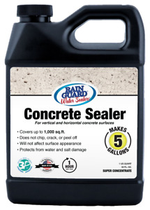 Rain Guard Water Sealers Sp 4003 Concrete Sealer Concentrate Covers Up To 1000 1