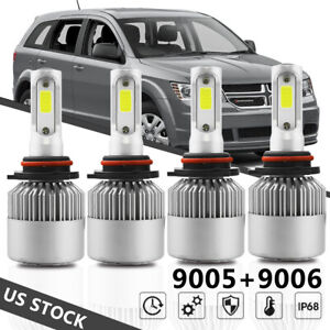 For Dodge Charger 2006 2007 2008 2009 2010 High Power Led Headlight Bulbs Us 4pc