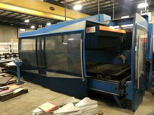 3000 Watt Prima Domino 1530hs 5 axis Co2 Laser 2004 5 X 10 Table