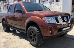 05 21 For Nissan Frontier Crew Cab Side Steps Hoop Rails Running Boards Bars