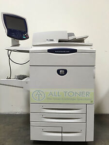 Xerox Docucolor 260 Press Commercial Laser Printer Copier Scanner Fiery 75ppm