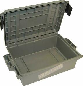 Military Ammo Crate Utility Box Plastic Ammunition Storage Case 65 LBS Stackable