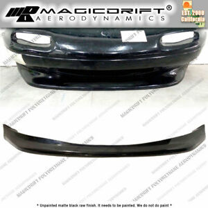 For 90 97 Mazda Miata Na Mx 5 Gv V2 Style Front Lower Bumper Lip Chin Spoiler