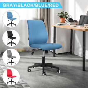 Mid back Mesh Office Drafting Chair W adjustable Arms Ergonomic Swivel Executive