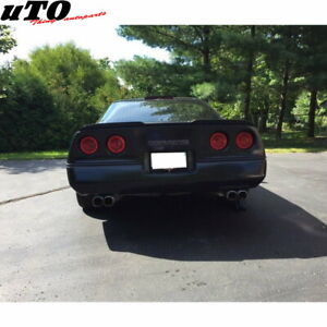 Stock 648 Hpdl Rear Trunk Spoiler Wing For 1984 96 Chevrolet Corvette C4 Coupe