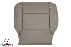 14 19 Chevy Silverado Ltz Driver Side Bottom Perforated Leather Seat Cover Tan