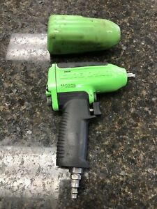 Snap On Tools Super Duty Impact Air Wrench 3 8 Drive Mg325 Green