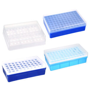Varisized Test Tube Rack Holder Polypropylene Lab Testing Tube Stand Bracket