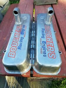 Bbc Tall Valve Covers With Burn Down Tubes