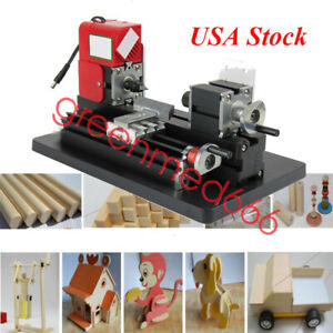 Us Wood Mini Lathe Diy Micro Milling Machine High Power Millier 20000rpm min 24w