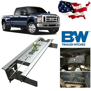 B W Turnoverball Gooseneck Hitch Gnrk1108 For 1999 2010 Ford Sd F 250 F 350