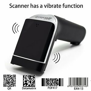 2d Barcode Scanneralacrity Wireless Usb Portable Bar Code Scanner With Vibrat
