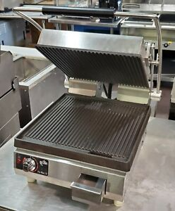 Star Mfg Pgt14i Commercial Sandwich Press panini Grill