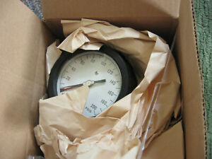 Weksler 4 1 2 Royal Pressure Gauge 0 200 Psig Bottom Connection New Old Stock