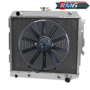 Aluminum Radiator For Chevy Ii Nova 22 core 1962 1967 1963 1964 1965 1966 fan