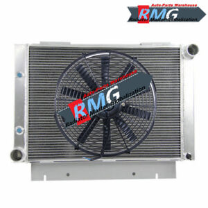 Aluminum Radiator For 1960 1963 Ford Galaxie 500xl Galaxie 1961 1962 V8 fan