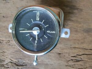 1949 1950 Ford Dash Clock Bezel Original 49 50 Nice