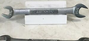 Craftsman Open End Wrench Sizes 3 8 X 7 16 Model 44572 Usa