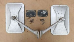 1968 1974 Ford Econoline Outside Rear View Mirrors Original Fomoco Pair