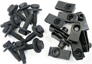 Ford 5 16 Body Bolts U Nut Clips 27 32 Center To Edge 20 Pcs 10ea 374