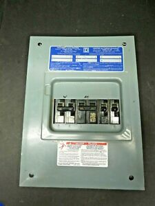 Square D Load Center 100 Amps New Plus Used Breakers