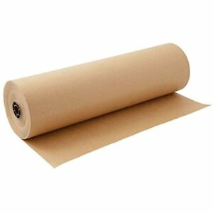 Brown Kraft Paper Roll 30 X 2400 Inches 200 Feet Long Single Roll 100 Paper