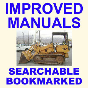 Case 450 Backhoe Bulldozer Crawler Tractor Service Repair Manual Searchable Cd