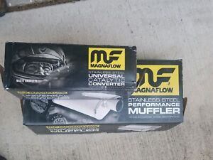 Magnaflow Muffler And High Flow Cats 3 Inch